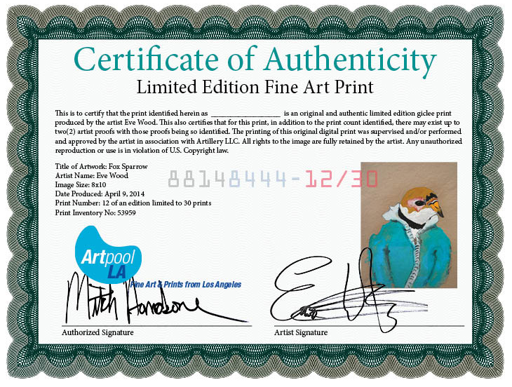 About our gicle prints artpool each limited edition gicle print is digitally signed and numbered and comes with a numbered certificate of authenticity making every print a valuable yadclub Images