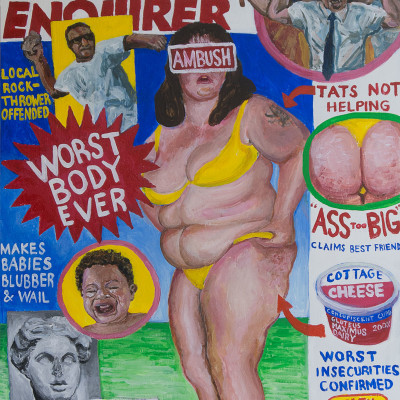 Worst-Body-Ever-(Enquirer)-24x32-acrylic-on-panel